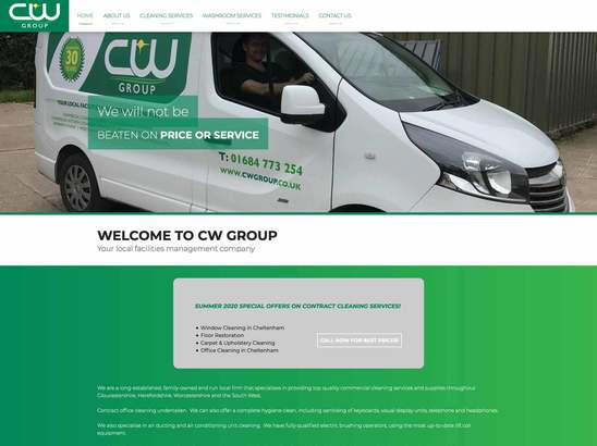 CW Group website